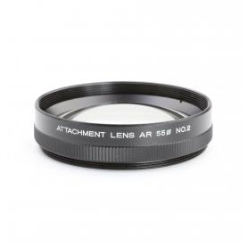 Konica Attachment Lens AR No 2 Makro-Linse Close-Up Lens 55 mm Nahlinse E-55 (223219)