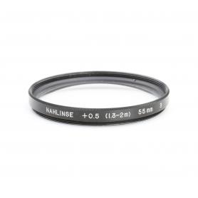 OEM Makro-Linse +0.5 (1.3-2m) 3 Close-Up Lens 55 mm Nahlinse E-55 Makro (223225)