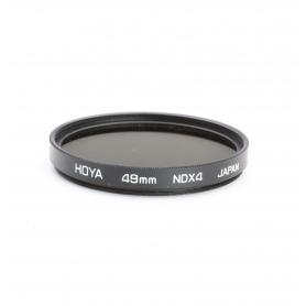 Hoya 49 mm Filter NDx4 Grau Filter E-49 (223280)