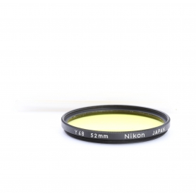 Nikon Gelb Yellow Filter 52 mm Y48 Japan E-52 (223302)