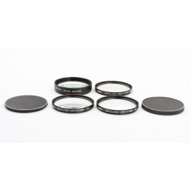 OEM 4x Set von Close-Up 58 mm Nahlinsen: Macro Lens, +1, +2, +4 E-58 (223307)
