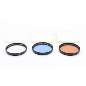 B+W 3x Filter Set 52 mm: KR6 1.4x + KB6 1.5x + KR1.5 1.1x E-52 (223332)