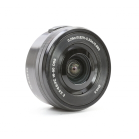 Sony E PZ 3,5-5,6/16-50 OSS Schwarz E-Mount (223439)