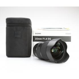 Sigma DG 1,4/20 HSM ART C/EF (223507)