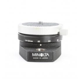 Minolta Kamera Drehteller Panorama Kopf Stativ Head (223615)