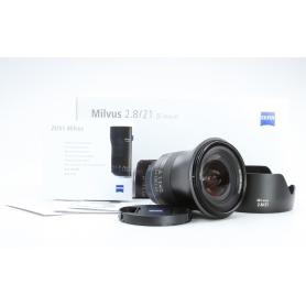 Zeiss Milvus 2,8/21 ZE C/EF (223653)