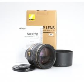 Nikon AF-S 1,4/85 G N (211717)