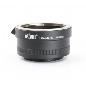 Kiwi LMA-NK.FXAdapter (AP50105) Nikon Lens auf Fujifilm Bayonett (224149)