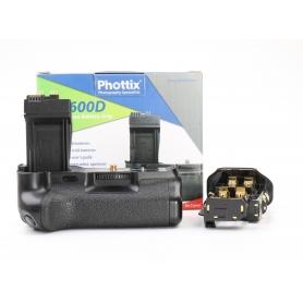 Phottix Batteriegriff BG 600D für Canon 600D (224296)