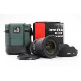Sigma EX 1,8/20 DG RF ASP C/EF (224308)