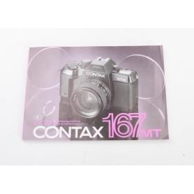 Contax Bedienungsanleitung 167MT (224119)