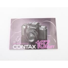 Contax Bedienungsanleitung 167MT (224120)