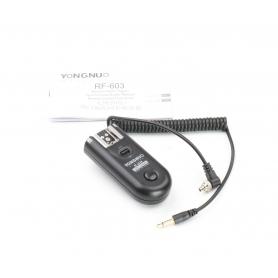 Yongnuo Blitzgerät Auslöser Controller RF-603N (224443)