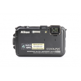 Nikon Coolpix AW100 Waterproof 10m/33ft Shockproof 1.5m (224458)