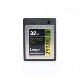 Sony Memory Karte XQD 32GB 440 MB/s 2933x (224489)