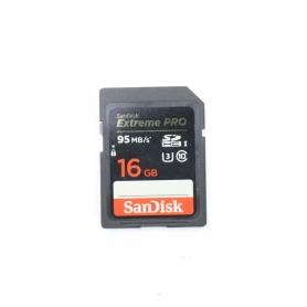 Sandisk SD Karte 16GB Extreme PRO 95 Mb/s (224523)