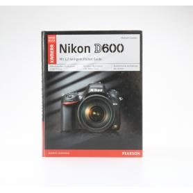 Pearson Nikon D600 Das Kamera Handbuch | Michael Gradias ISBN 9783827332158 | Buch (224526)