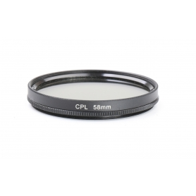 OEM Polfilter 58 mm CPL E-58 (224615)