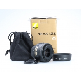 Nikon AF-S 1,8/35 G DX (224881)