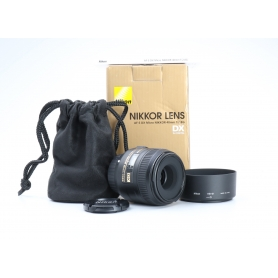 Nikon AF-S 2,8/40 Micro G DX (224882)