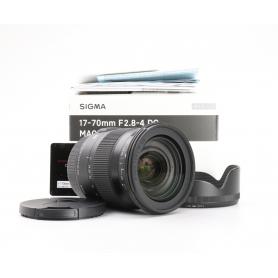 Sigma DC 2,8-4,0/17-70 OS HSM Makro Contemporary C/EF (224905)