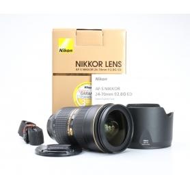 Nikon AF-S 2,8/24-70 G ED (224938)