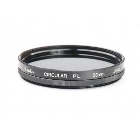 Kenko Polfilter 58 mm Circular PL E-58 (224978)