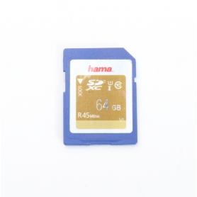 Hama SD Karte 64GB 45 Mb/s (224850)