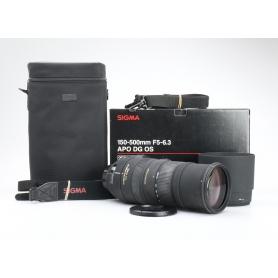 Sigma EX 5,0-6,3/150-500 APO DG HSM OS NI/AF (225331)