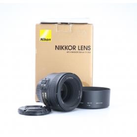 Nikon AF-S 1,8/50 G (225402)