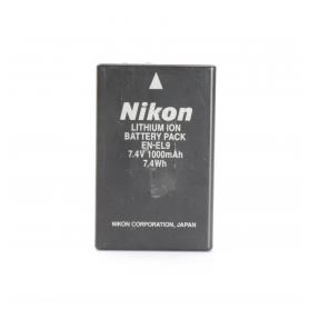 Nikon Li-Ion-Akku EN-EL9a 7,2V/1080Ah (225498)