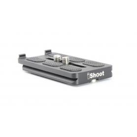 iShoot Schnellkupplungsplatte Quick Release Plate Stativ Platte (225499)
