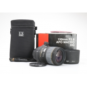 Sigma EX 2,8/150 APO DG Makro HSM NI/AF (225721)