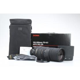 Sigma EX 5,0-6,3/150-500 APO DG HSM OS NI/AF (225765)