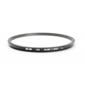 B+W 72 mm UV-Filter Slim 010 E-72 (225938)