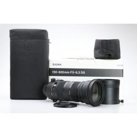Sigma DG 5,0-6,3/150-600 HSM OS S Sports C/EF (225974)