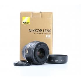 Nikon AF-S 1,8/35 G DX (226017)
