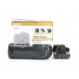 Meike Hochformatgriff Battery Pack MK-D800 wie MB-D12 für Nikon D800 (226288)