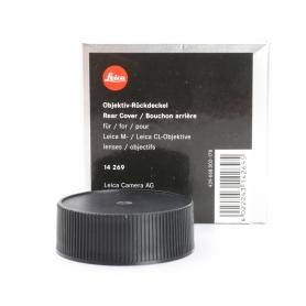 Leica Objektivrückdeckel Rear Cover Lens Cap Cap für Leica M (14269) (226315)