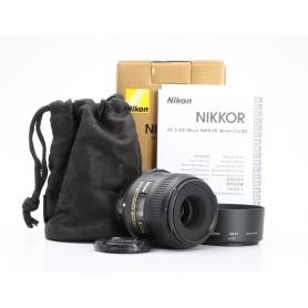 Nikon AF-S 2,8/40 Micro G DX (226438)