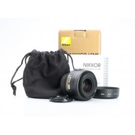Nikon AF-S 1,8/35 G DX (226486)