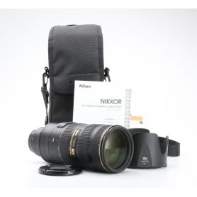 Nikon AF-S 2,8/70-200 G IF ED VR II (226506)