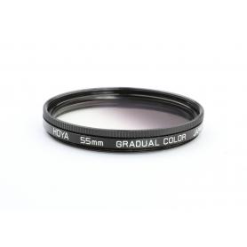 Hoya 55 mm Gradual Color Verlauf Filter E-55 (223208)