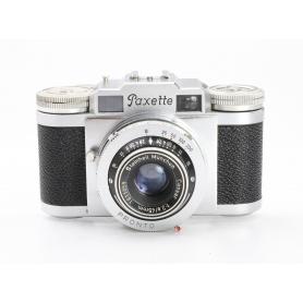 Braun Paxette mit Steinheil Cassar 2,8/45 (226705)