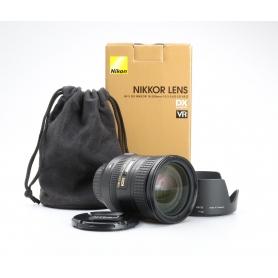 Nikon AF-S 3,5-5,6/18-200 IF ED VR DX II (226739)