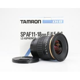 Tamron SP 4,5-5,6/11-18 LD IF DI II ASP für Sony (226889)