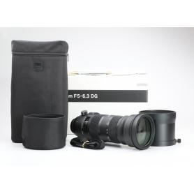 Sigma DG 5,0-6,3/150-600 HSM OS S Sports C/EF (226915)