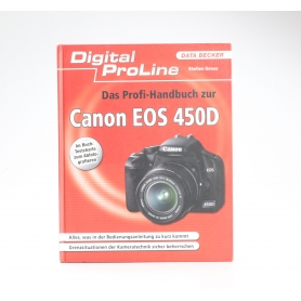 Data Becker Canon EOS 450D Das Profi-Handbuch Stefan Gross ISBN-9783815826485 / Buch (227178)