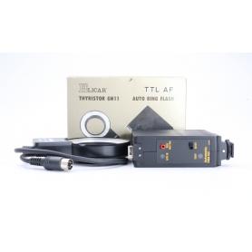 Elicar Thyristor GN11 TTL AF Auto Ring Flash Makro Ringblitz für Nikon Series VII (227183)