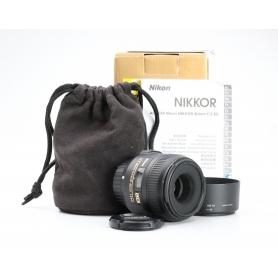Nikon AF-S 2,8/40 Micro G DX (227197)